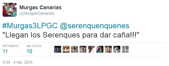 2016-03-21 00_13_06-Murgas Canarias en Twitter_ _#Murgas3LPGC @serenquenquenes _Llegan los Serenques