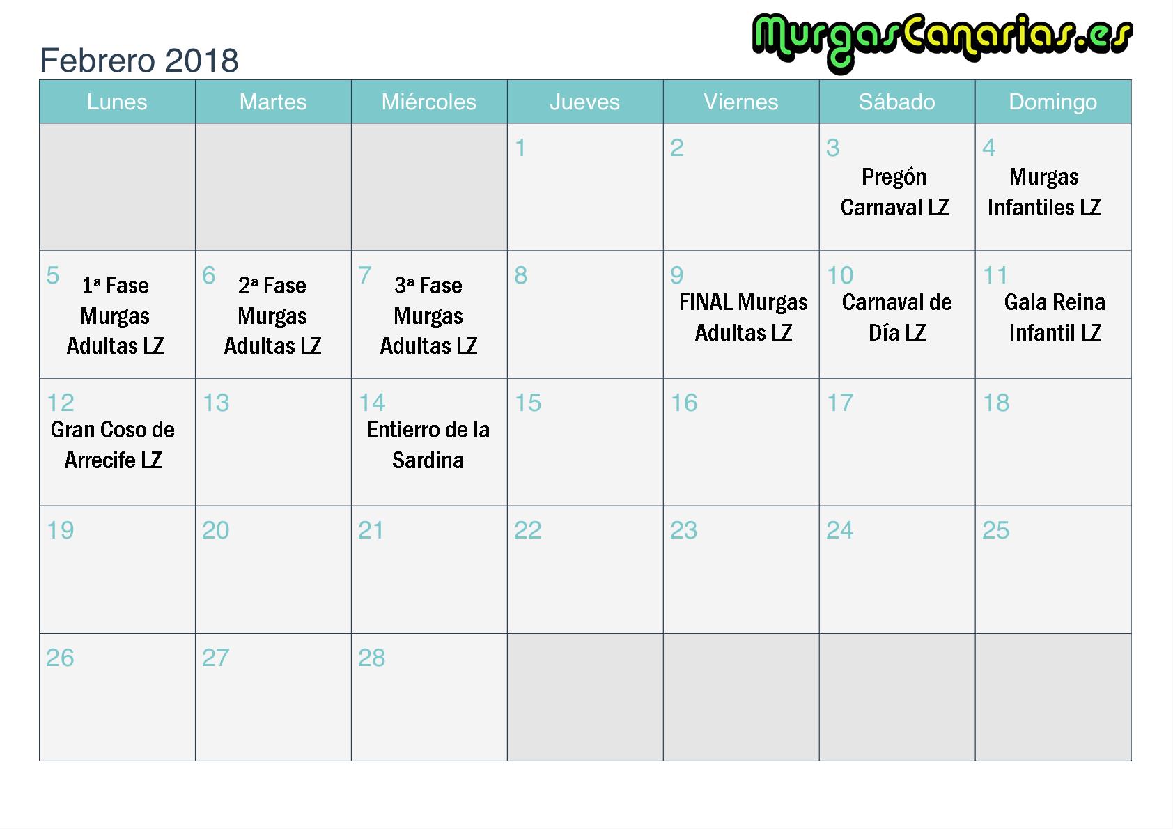 feb lz 2018