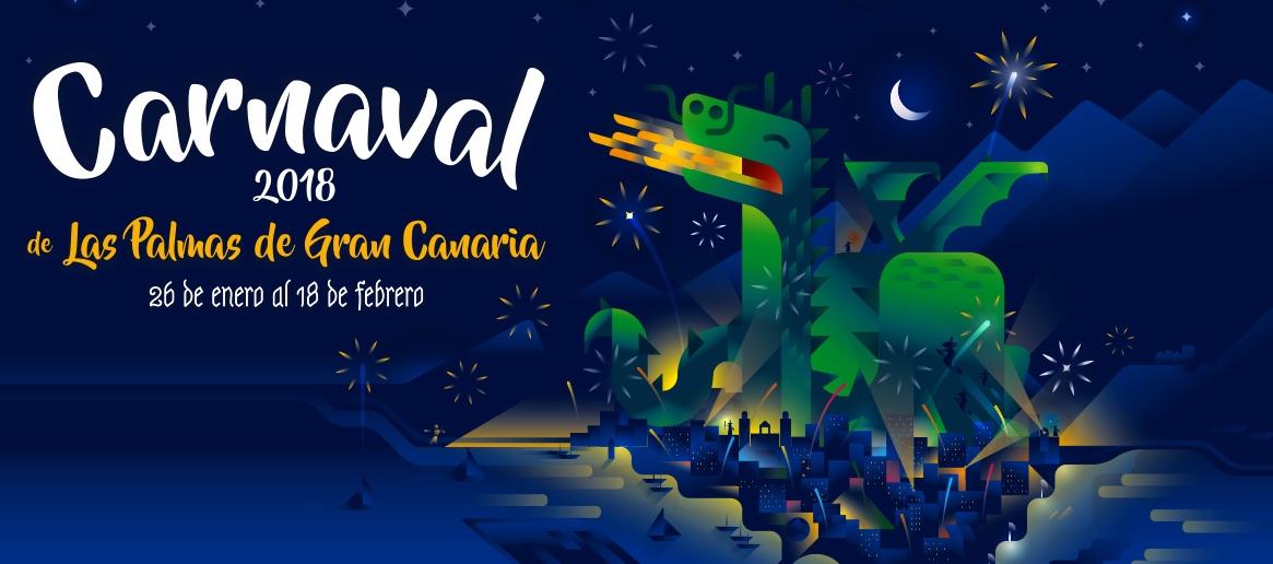 As es el cartel del carnaval de las palmas de gran for Oficina de correos las palmas de gran canaria